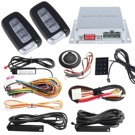 Alarm Central Lock Xenia high security pke car alarm kit remote engine start auto