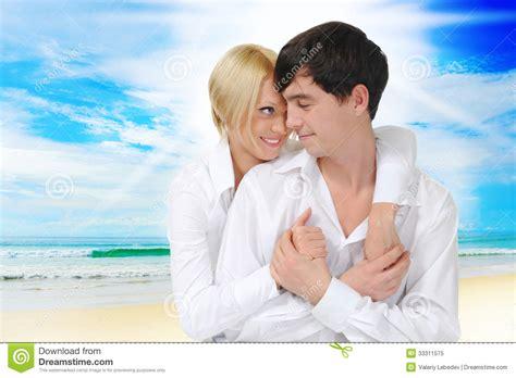 Cauple Senny happy on the royalty free stock photo image 33311575