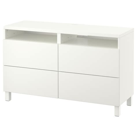 besta drawer best 197 tv bench with drawers lappviken white 120x40x74 cm