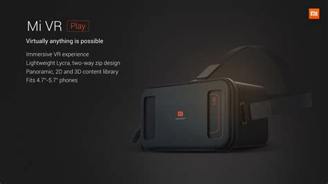 Vr Xiaomi xiaomi mi vr headset launched android authority