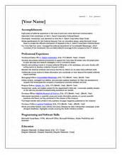 Cv For Phd Application by Cv Templates Free Ireland Resume Cv Templates Free