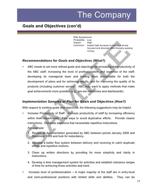 Application Assessment Report Template Sle2 Report Business Assessment