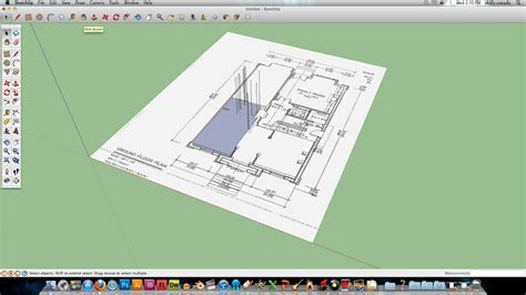 google sketchup house plans tutorial technological design projects