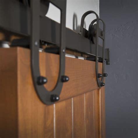 Barn Door Hardware Installation Custom Interior Barn Door Hardware Western Track Installation By Basin Custom Custommade