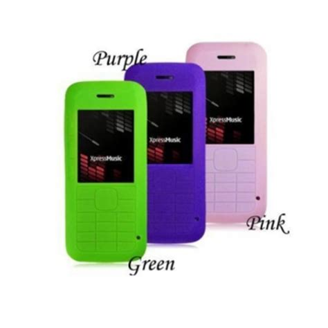 Casing Hp Nokia Xpressmusic 5310 silicone cover skin for nokia 5310 xpressmusic us 1 33 sold out
