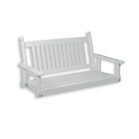 home depot outdoor swings porch swing white rta 4