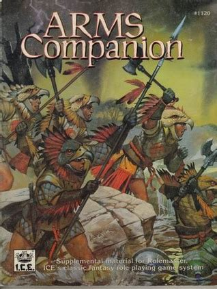 Rolemaster Companion 3 arms companion rolemaster 2nd edition 1120 by joseph a
