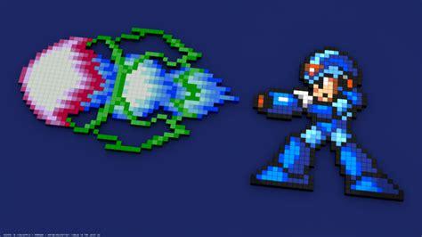 Anime 8 Bit Vs 10 Bit by Megaman X 16 Bit 8 Bit Pixelated Pixel 3d Blocks