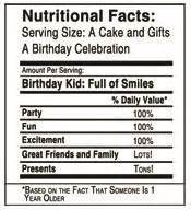 Pin By Zorana Galic On Birthday Party Pinterest Printable Labels Birthday And Label Tag Birthday Nutrition Facts Label Template