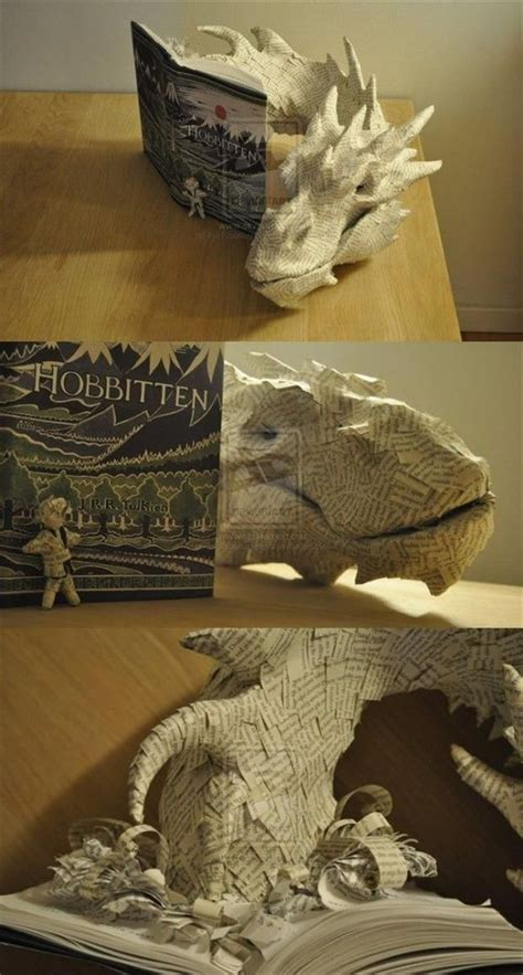 book sculpture smaug emerging from 96 best tolkien images on lord of the rings the lord and god