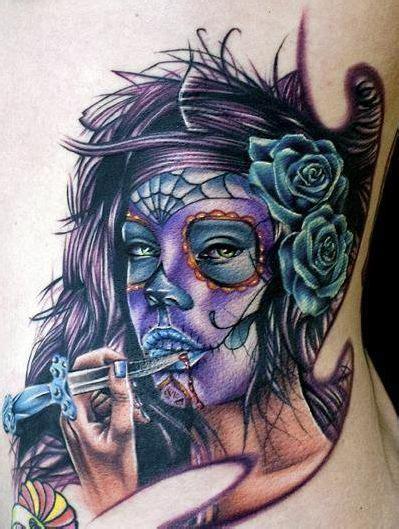 sugar skull girl tattoo the gallery for gt sugar skull