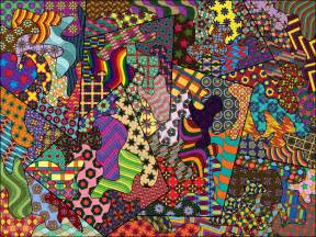 colorful zentangle colored zentangle by naomeri on deviantart