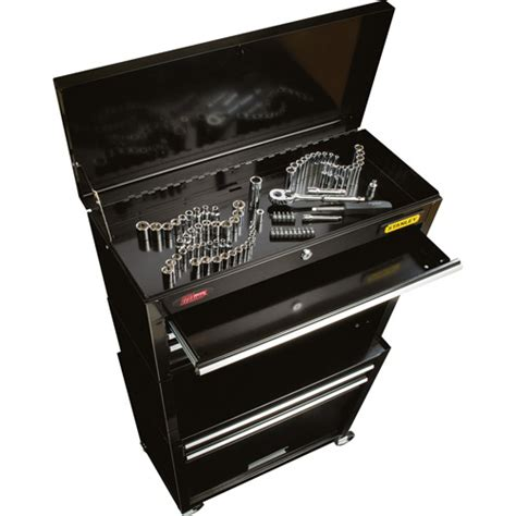 Stanley Professional Tool Chest Cabinet Combo 6 Drw by Stanley Rolling Tool Chest Stmt72656 With Bonus 88 Pc