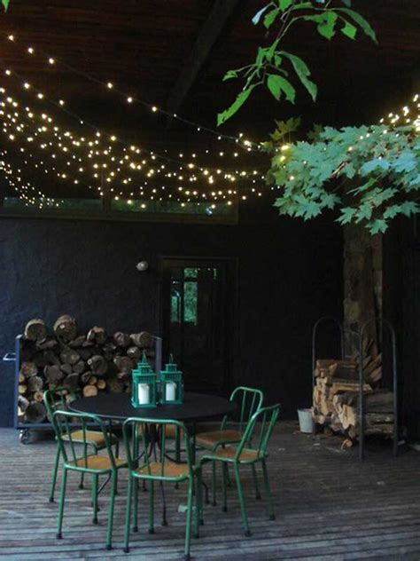 Patio Spotlights by 26 Breathtaking Yard And Patio String Lighting Ideas Will