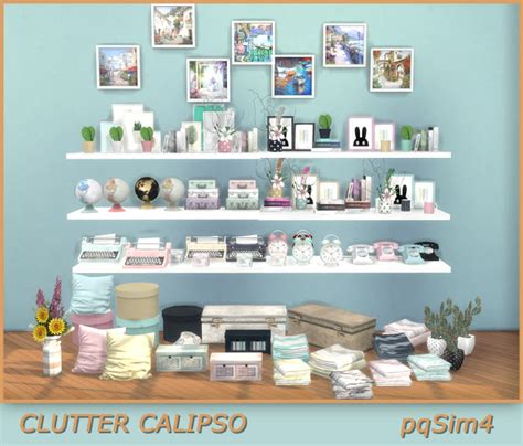 office clutter sims 4 cc clutter calipso sims 4 custom content