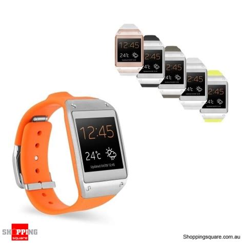 samsung galaxy gear android smart samsung galaxy gear sm v700 android smart orange shopping shopping square