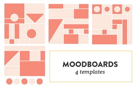 How To Create A Thoughtful And Well Curated Moodboard Plus Free Moodboard Templates Forth Mood Board Illustrator Template