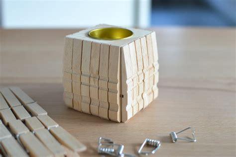 notenständer mit kerzenhalter diy kerzenhalter aus w 228 scheklammern ich designer