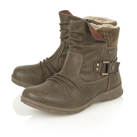 boots co uk lotus namora s khaki boots free delivery at shoes