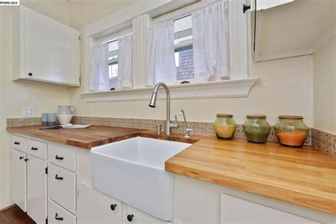 Farmhouse Kitchen Countertops by 25 Kitchens With Stunning Wood Counters Page 2 Of 5