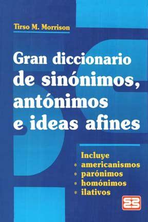 diccionario de ideas afines 8425415152 librotecnia