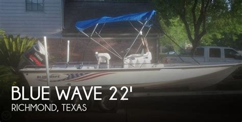 2003 blue wave boats for sale 2003 blue wave 22 power boat for sale in richmond tx