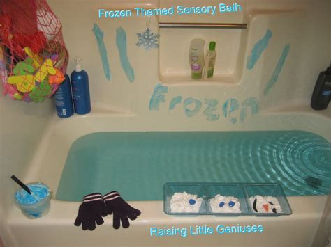 Bathroom Set Keranjang Frozen frozen themed sensory bath based on the and book frozen this sensory bath for toddlers