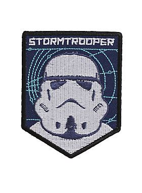 Iron Patch Esgotado Wars Trooper wars stormtrooper iron on patch topic