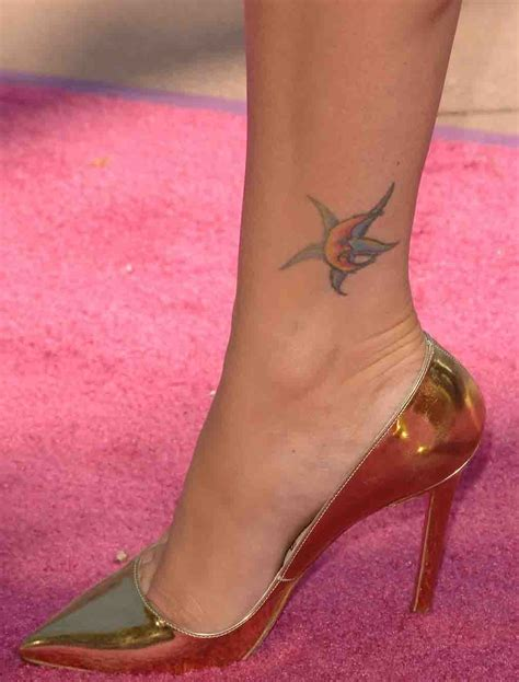 ankle foot tattoos 40 megan fox tattoos slodive