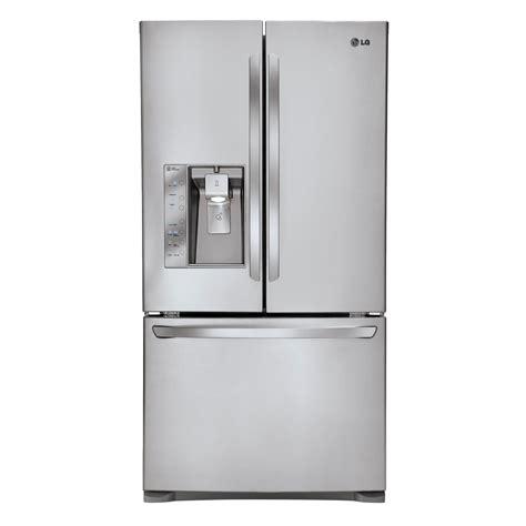 30 door refrigerator shop lg 30 7 cu ft door refrigerator with single