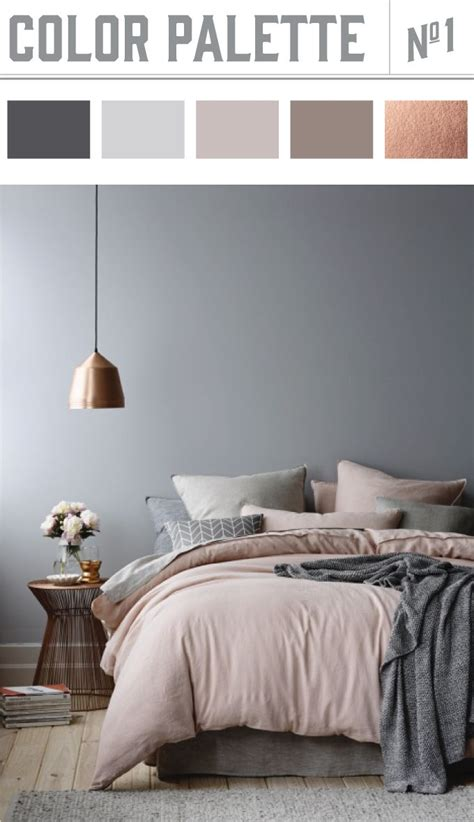 gray bedroom color schemes 25 best ideas about bedroom color schemes on pinterest