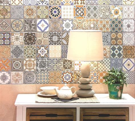 Patchwork Wall Tiles - realonda provenza pattern multi design wall floor tiles