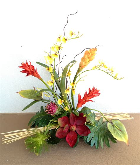 arrangement flowers tropical arrangement flowers arrangement pinterest