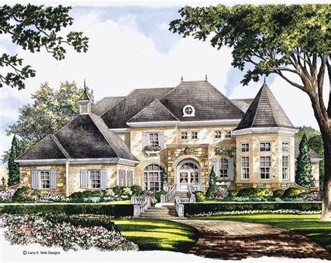 eplans chateau house plan majestic bay 5134 square