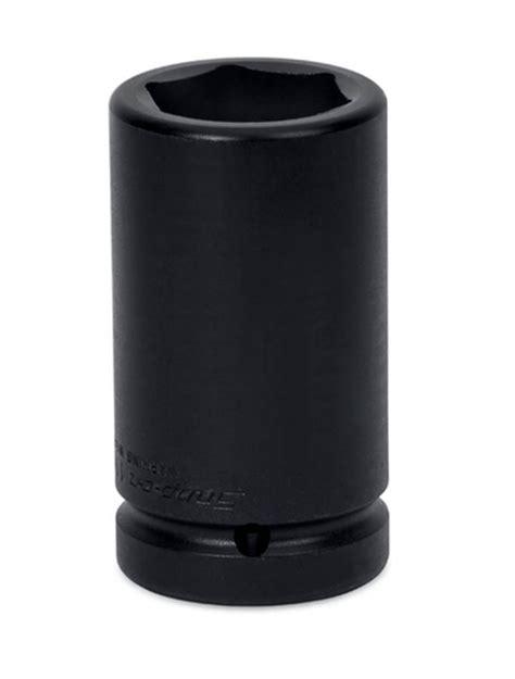 Tone Impact Socket 13 16 Size 1 Sq 1 quot square drive 6 point sae 13 16 quot square budd wheel impact socket