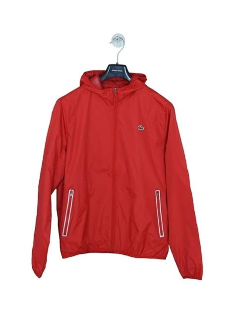 Sports Hooded Zip Jacket lacoste sport hooded zip through jacket in corrida