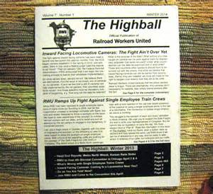 The Highball The Highball 50 Copies 183 Railroad Workers United Store