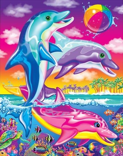 Day 123 lisa frank unicorns rainbows puppies and kittens oh my