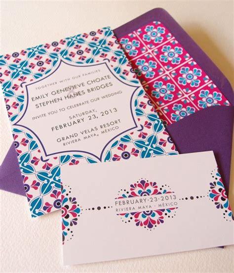 mexico wedding invitations mexican wedding invitations