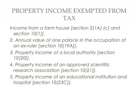 section 10 21 of income tax act lecture 10 income from house property