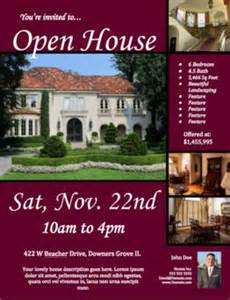 Open House Flyer Template Free by 34 Spectacular Open House Flyers Psd Word Templates