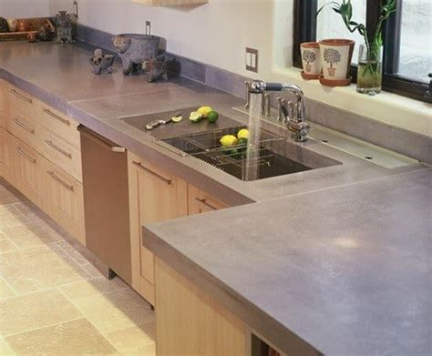 Cement Kitchen Countertops by Concrete Countertop Ideas And Exles Part 1 Of 2