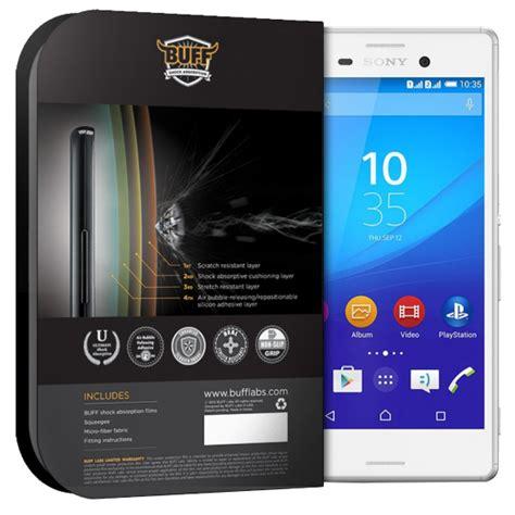 Sony Xperia M4 Aqua Anti Gores Anti Shock Clear Screen Guard 1 buff std sony xperia m4 aqua darbe emici sony xperia m4 aqua darbe emici şeffaf