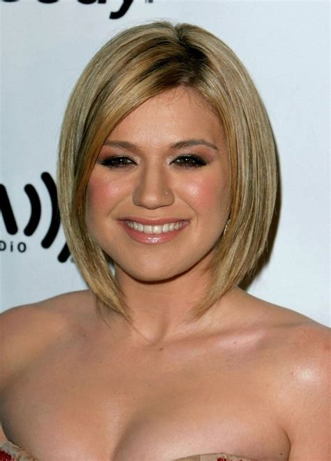 bob haircut fat face hairstyles to make fat faces slimmer