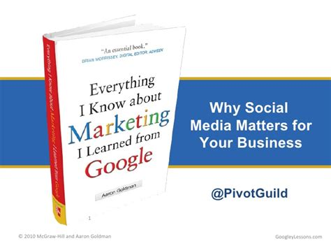 your business and company matters today making social media matter for your business