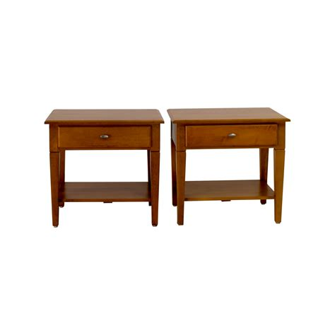 Single Drawer Table by End Tables Used End Tables For Sale