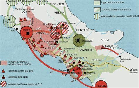 imágenes maps más guerras samnitas