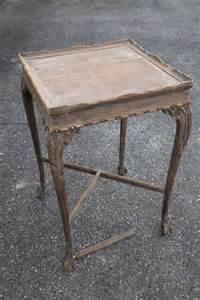 Antique side table before amp after blog kristin partridge