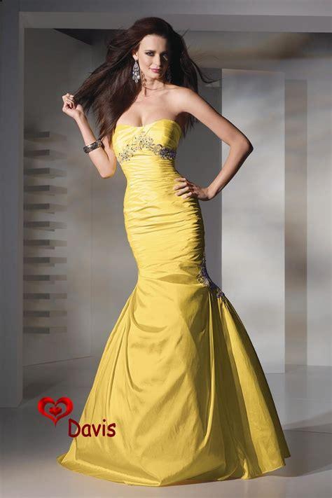 Varra Dress vestido amarelo do baile de finalistas do cetim da sereia
