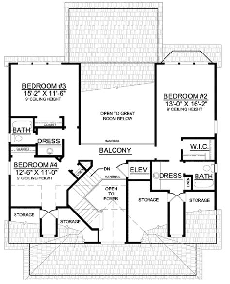 low country house plan with elevator 9140gu
